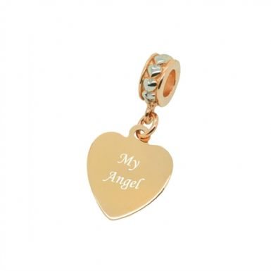 My Angel, Rose Gold Memorial Charm | Someone Remembered